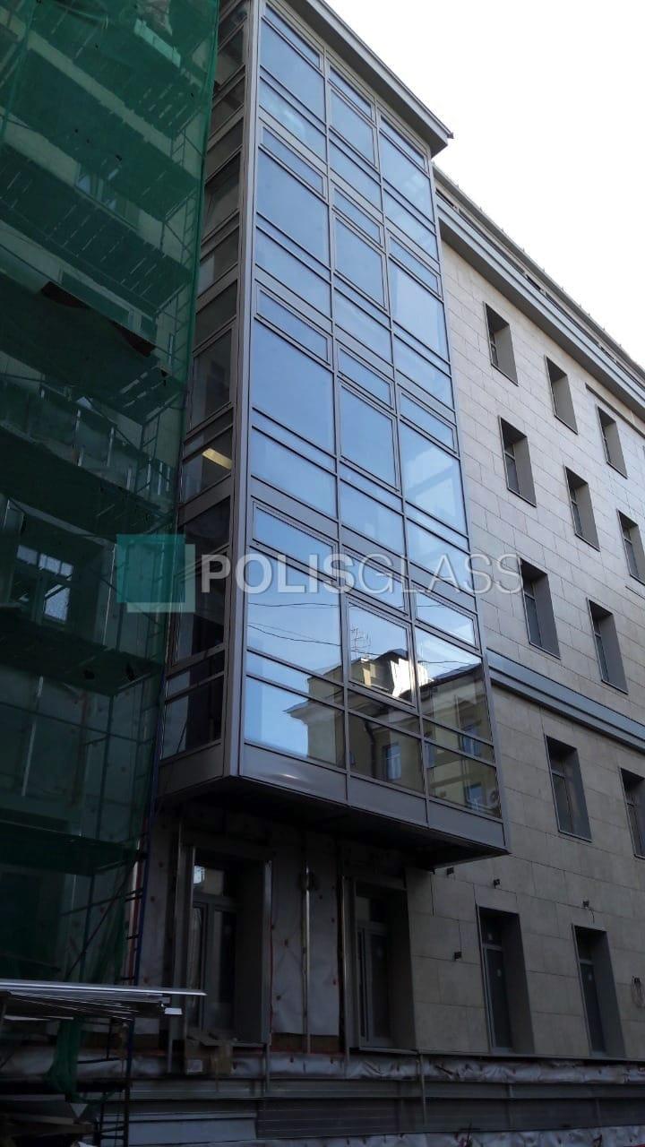 Остекление балконной группы в многоэтажке