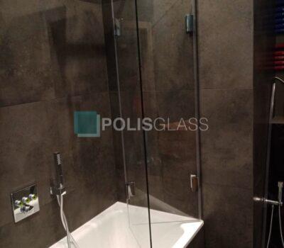 экран-гармошка в ванную комнату