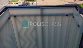Ограждение балкона на точках