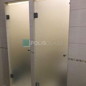 стеклянные двери для сан.узла